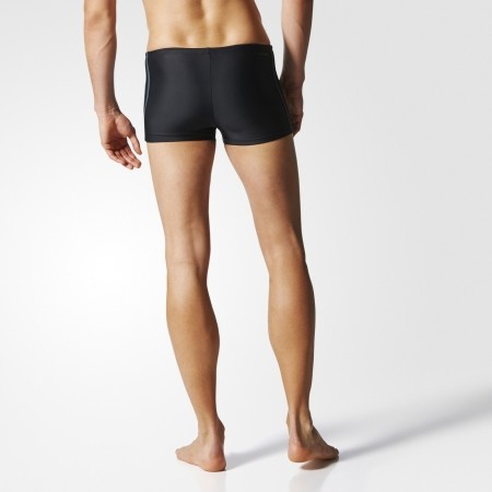 Men's swimming boxers - adidas 3 STRIPES BOXER - 5