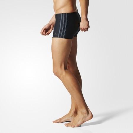 Men's swimming boxers - adidas 3 STRIPES BOXER - 6
