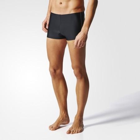 Men's swimming boxers - adidas 3 STRIPES BOXER - 4