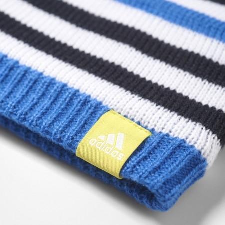 40332e227 Detská zimná čiapka - adidas STRIPY BEANIE - 4
