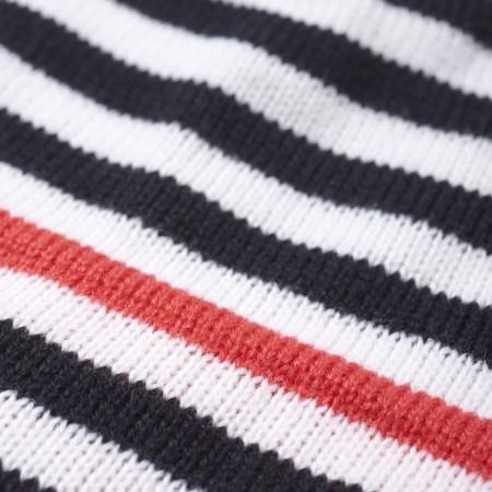 Detská zimná čiapka - adidas STRIPY BEANIE - 5