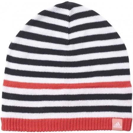 Detská zimná čiapka - adidas STRIPY BEANIE - 1