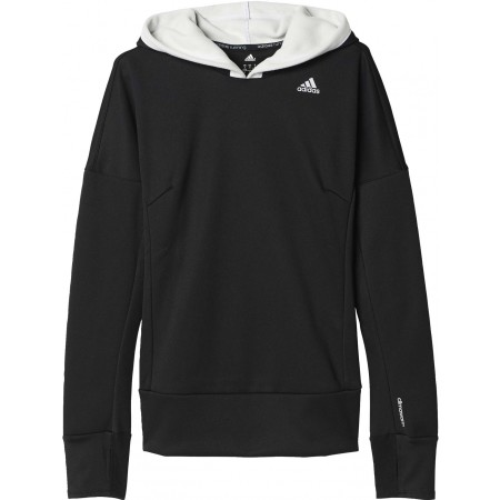 Dámská běžecká mikina - adidas RESPONSE CLIMA WARM ASTRO HOODIE W - 1 78363785322