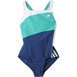 adidas YOUTH 3STRIPES COLORBLOCK SUIT KIDS GIRLS
