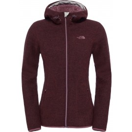 The North Face W ZERMATT FZ HOODIE - Dámsky sveter