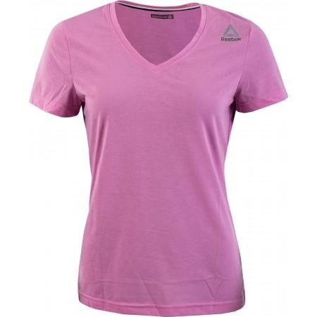 Dámské tričko - Reebok WORKOUT READY STACKED LOGO SUPREMIUM TEE - 1 526dd461d7