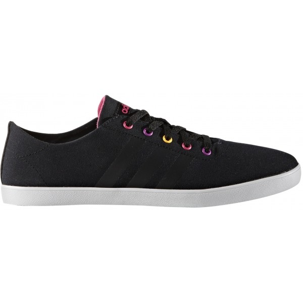 adidas QT VULC V5 W černá 6.5 - Dámská volnočasová obuv