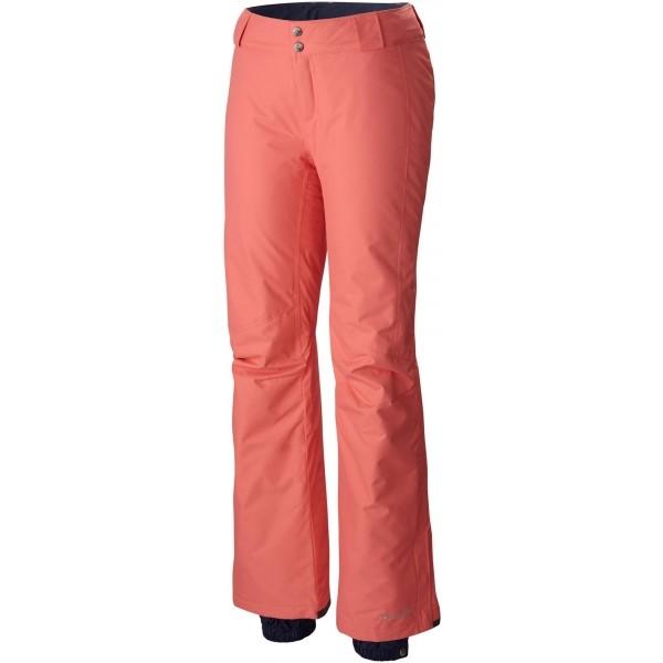 Columbia BUGABOO PANT oranžová L - Dámské zimní lyžařské kalhoty
