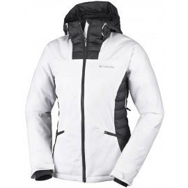 Columbia SALCANTAY HOODED JACKET - Dámská lyžařská bunda