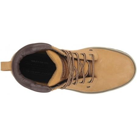 Pánske členkové zimné topánky - Skechers AMSON - 4