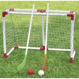 Outdoor Play FLORBAL SET - Folding floorball goal
