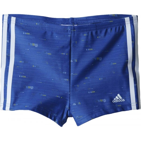 adidas I 3S BX PR Y modrá 152 - Chlapčenské plavky