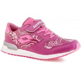 Lotto RECORD VIII LEAF CL SL - Dívčí volnočasová obuv
