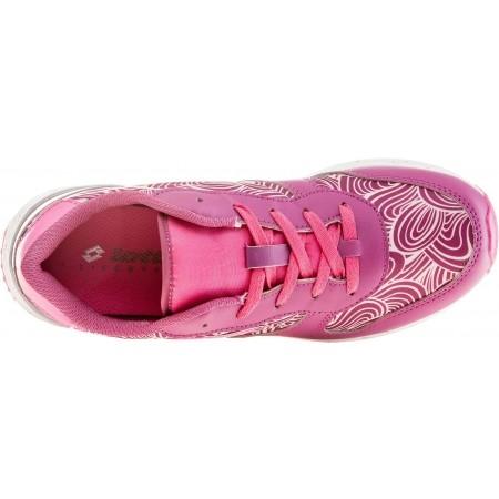 Dievčenská voľnočasová obuv - Lotto RECORD VIII LEAF JR L - 4