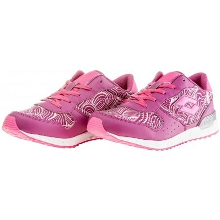 Dievčenská voľnočasová obuv - Lotto RECORD VIII LEAF JR L - 2