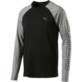 Puma ATHLETIC BASEBALL TEE - Stylish men's T-shirt