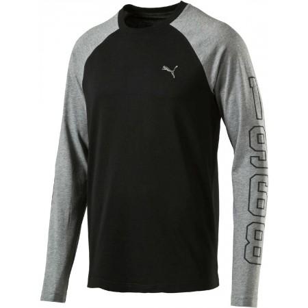 d256f652d3d8a Štýlové pánske tričko - Puma ATHLETIC BASEBALL TEE - 1