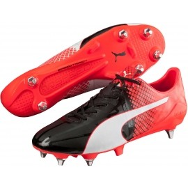 Puma EVOSPEED 1.5 TRICKS MIXED SG - Juniorskie buty do piłki nożnej