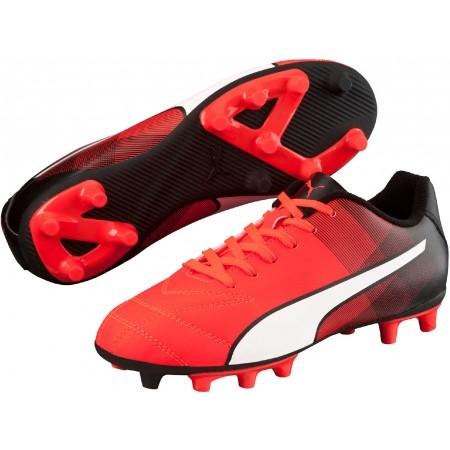 Ghete fotbal juniori - Puma ADRENO II FG JR - 1