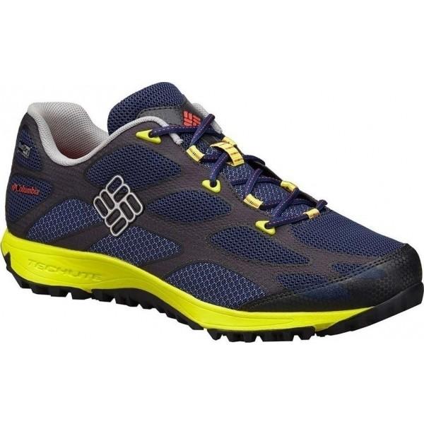 Columbia CONSPIRACY IV OUTDRY niebieski 11.5 - Męskie obuwie trekkingowe