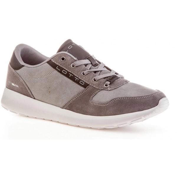 Lotto VALENCIA 80 II sivá 12 - Pánska voľnočasová obuv