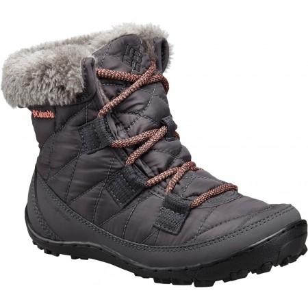 f3a0cfad788e Kids  winter shoes - Columbia YOUTH MINX SHORTY OMNI-HEAT WATERPROOF - 1