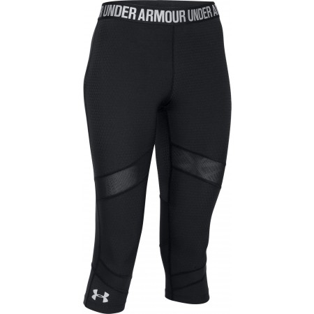 af38f1396c14a Women's 3/4 length running tights - Under Armour COOLSWITCH CAPRI - 1