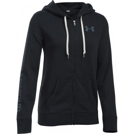 Дамски суитшърт - Under Armour FAVORITE FLEECE FULL ZIP - 1