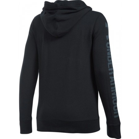 Дамски суитшърт - Under Armour FAVORITE FLEECE FULL ZIP - 2