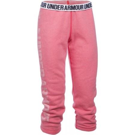 Spodnie dresowe 3/4 damskie - Under Armour FAVORITE FLEECE CAPRI - 1