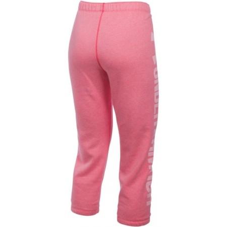 Spodnie dresowe 3/4 damskie - Under Armour FAVORITE FLEECE CAPRI - 2