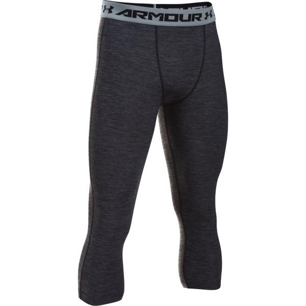 Under Armour HG ARMOUR TWIST 3/4 LEGGING fekete S - Kompressziós, 3/4-es legging férfiaknak