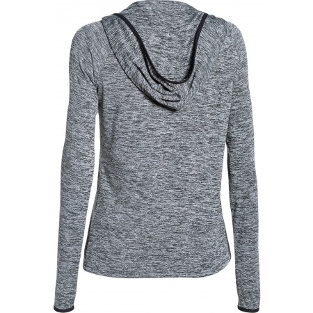 Women's sweatshirt/T-shirt - Under Armour TECH LS HOODY - 2