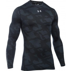 Under Armour CG ARMOUR JACQUARD CREW - Men's compression T-shirt