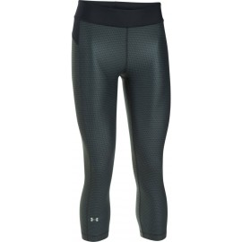 Under Armour HG ARMOUR PRINTED CAPRI - Women's compression capri leggings