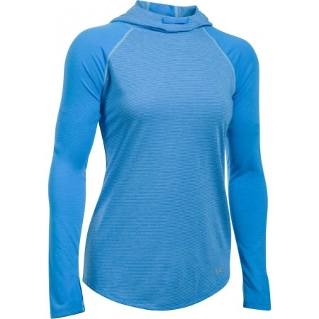 Dámské běžecké triko - Under Armour STREAKER HOODIE - 1 fa0ef3ab6c2