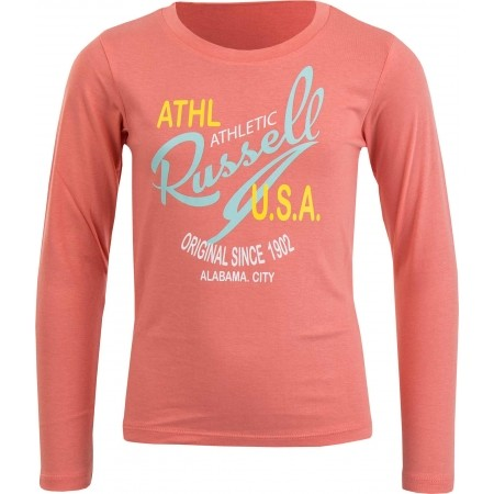 Dívčí triko - Russell Athletic PRINT USA - 1