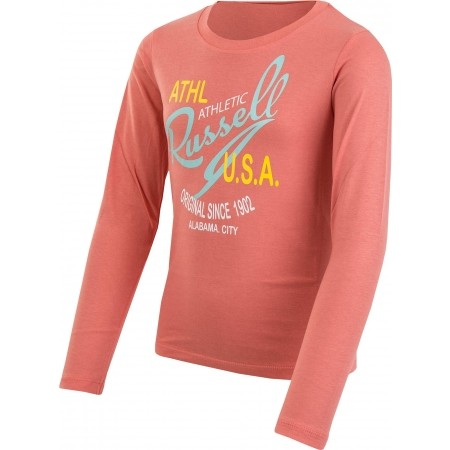 Dívčí triko - Russell Athletic PRINT USA - 2