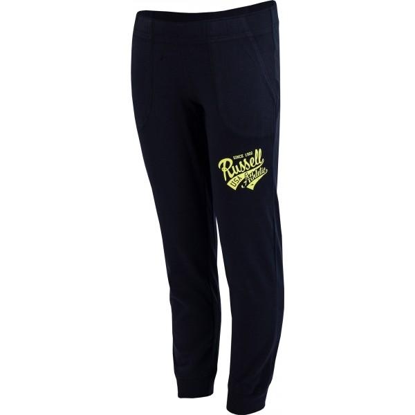 Russell Athletic PANTS granatowy 152 - Spodnie dresowe chłopięce