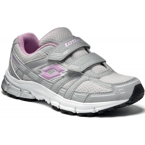 Lotto ZENITH NU CL S šedá 29 - Dětská sportovní obuv