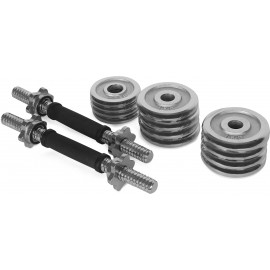 Keller DUMBBELL SET 13,5KG - One-hand loading weight
