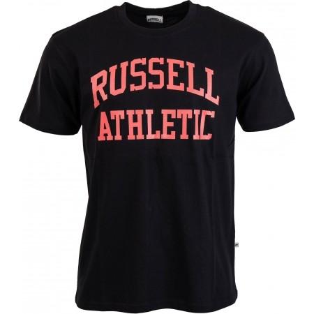 Tricou modern bărbați - Russell Athletic ARCH LOGO - 1