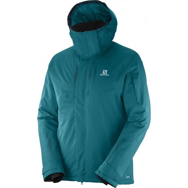Salomon STORMSPOTTER JKT M modrá XL - Pánská lyžařská bunda