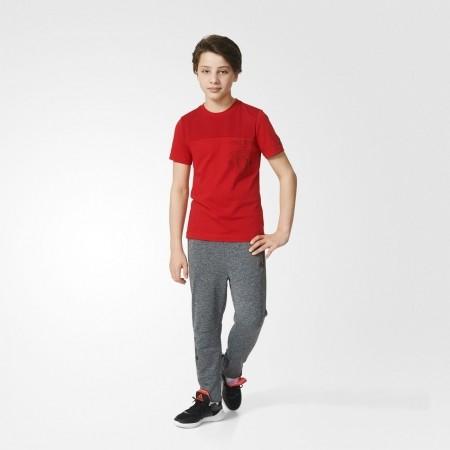 Панталони за момчета - adidas FOOTBALL CLUB MUFC KNITTED TIRO PANT - 4
