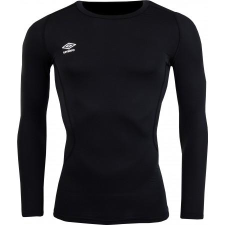 Pánské sportovní triko - Umbro CORE LS CREW BASELAYER - 1