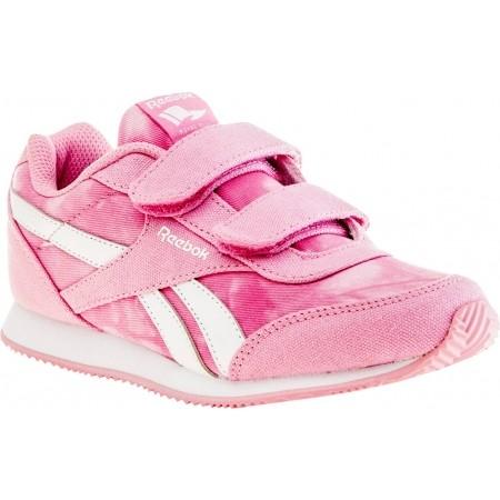 Dětská volnočasová obuv - Reebok ROYAL CLJOG 2 GR 2V - 1 efd5af79d8