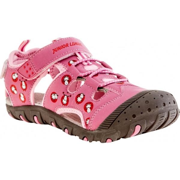 Junior League CORY růžová 34 - Dívčí sandály