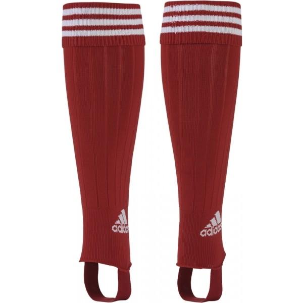 adidas 3 STRIPE STIRRU czerwony 37-39 - Getry piłkarskie