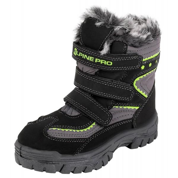 ALPINE PRO TIMBER - Detská zimná obuv
