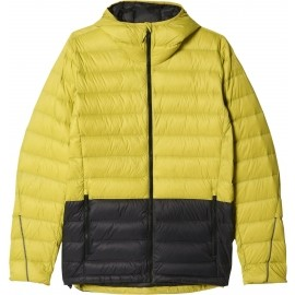 adidas LIGHT DOWN HOODED JACKET CB - Kurtka outdoorowa męska